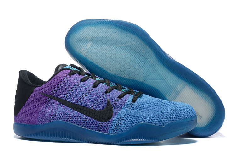 Nike Kobe Bryant 11 Knit Blue Purple Black Shoes
