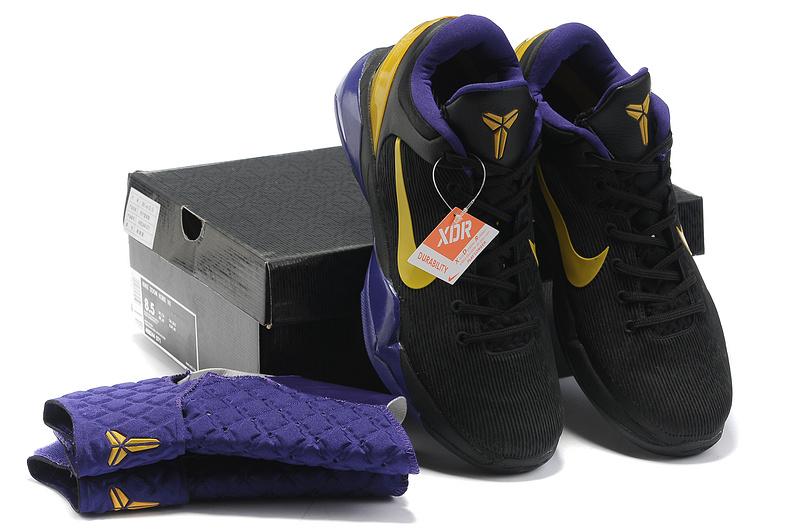 Kobe Bryant Nike Shoes Purple Nike Kobe Bryant 7 Black