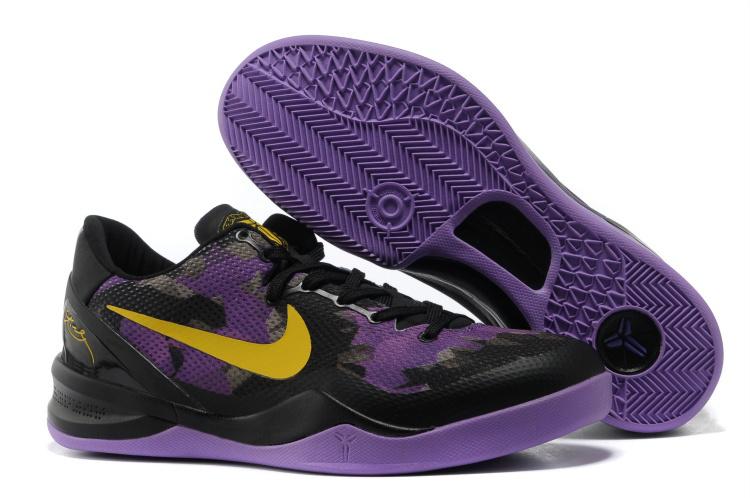 Nike Kobe 8 Black Purple