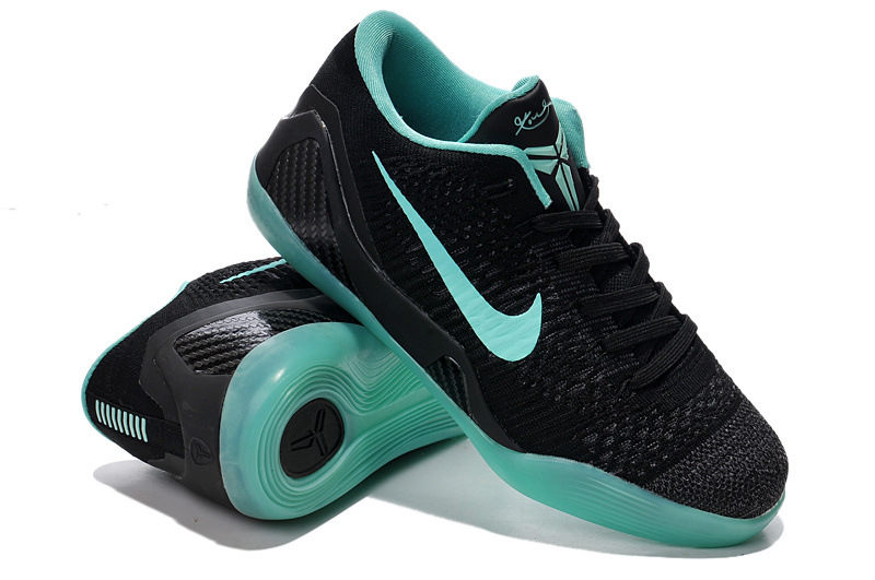 Nike Kobe Bryant 9 Low Black Blue Shoes