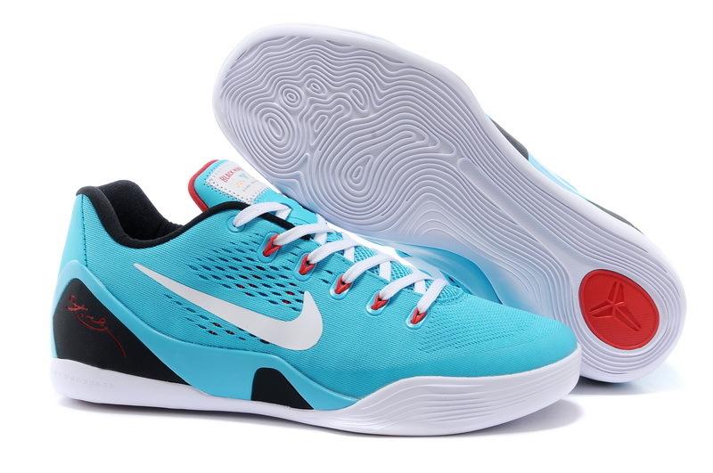 Nike Kobe Bryant 9 Cactus Blue White Black Shoes
