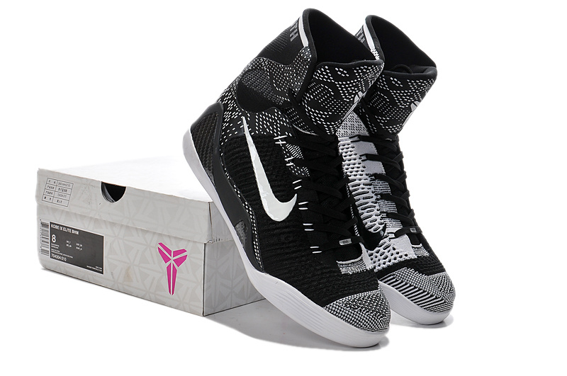 Nike Kobe Bryant 9 High Black Moon Grey Shoes