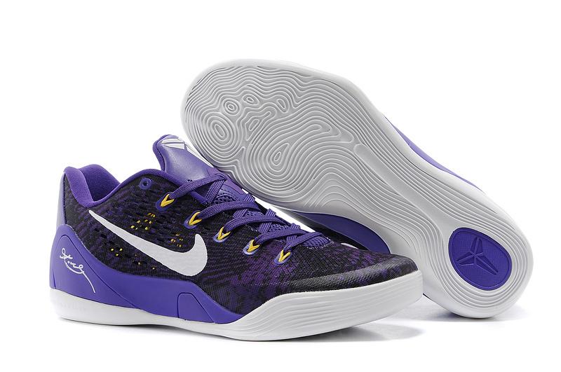 Nike Kobe Bryant 9 Low Black Purple White For Women