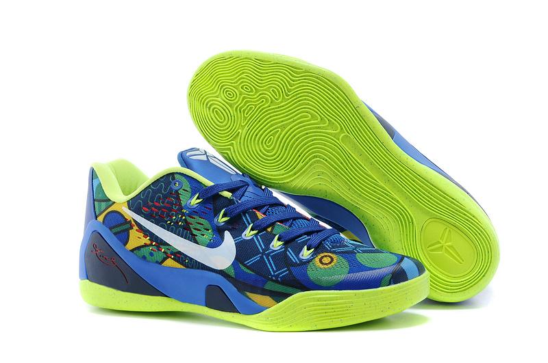 Nike Kobe Bryant 9 Low Blue Green For Women
