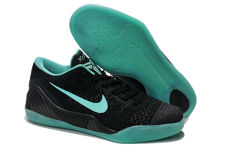 Nike Kobe Bryant 9 Low Knit Black Blue Shoes