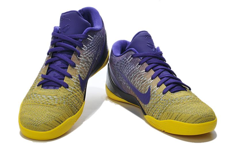 Kobe Bryant Nike Shoes Purple Nike Kobe Bryant 9 Low Knit