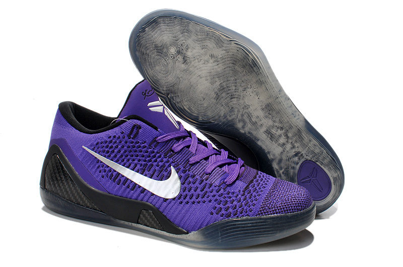 Nike Kobe Bryant 9 Low Purple Black Shoes