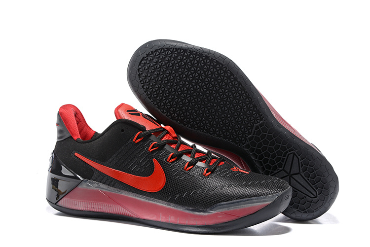 Nike Kobe Bryant A.D Black Red Shoes