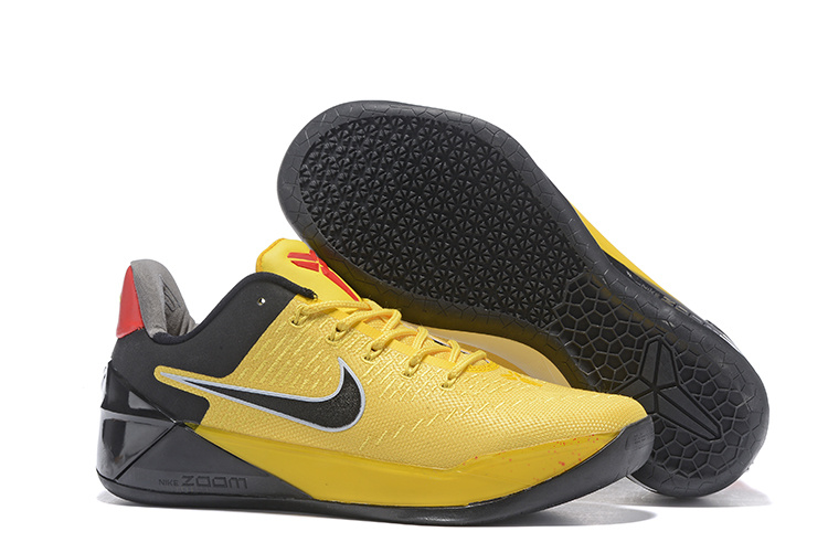 Nike Kobe Bryant A.D Bruce Lee Yellow Black Shoes