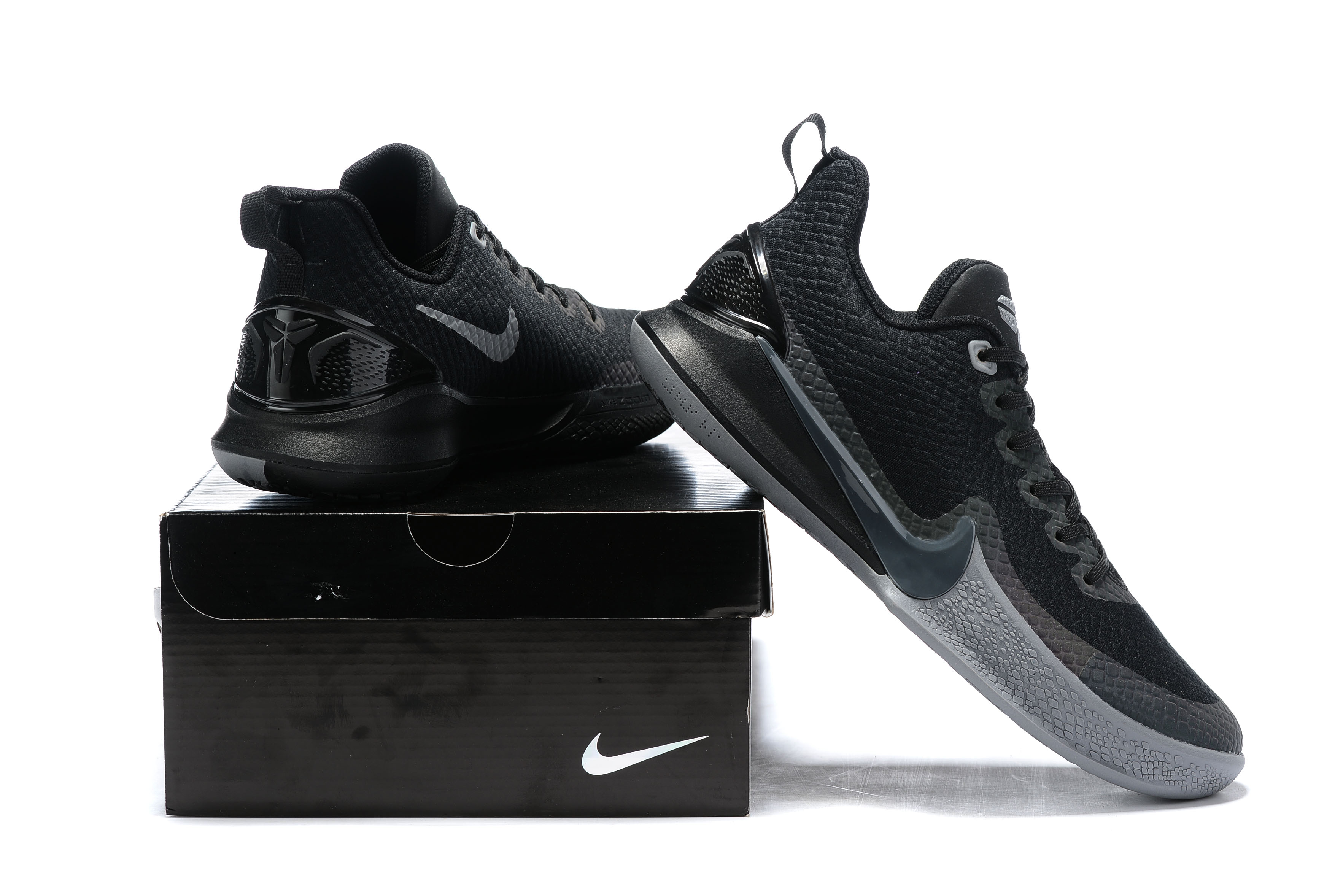 2019 Nike Kobe Mamba All Black Shoes