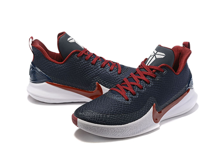 2019 Nike Kobe Mamba Black Wine Red Shoes