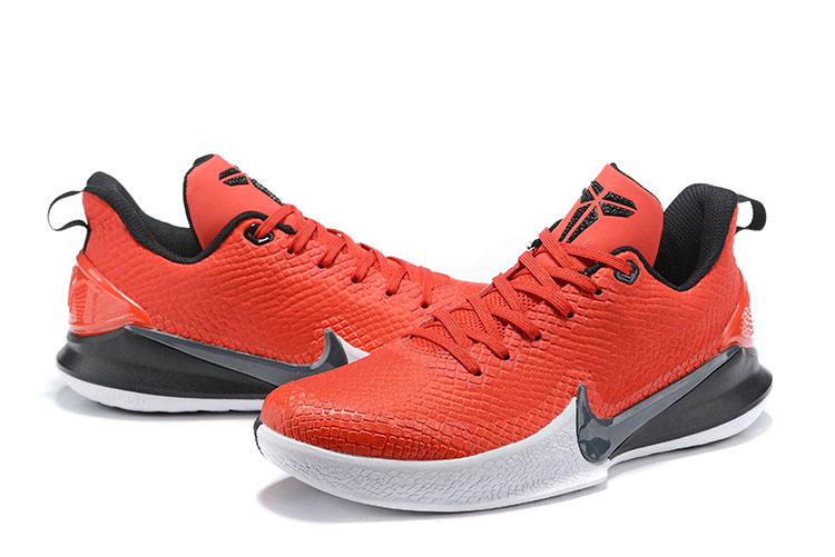 2019 Nike Kobe Mamba Red Black White Shoes