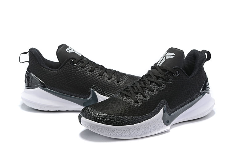 2019 Nike Kobe Mamba White Black Shoes