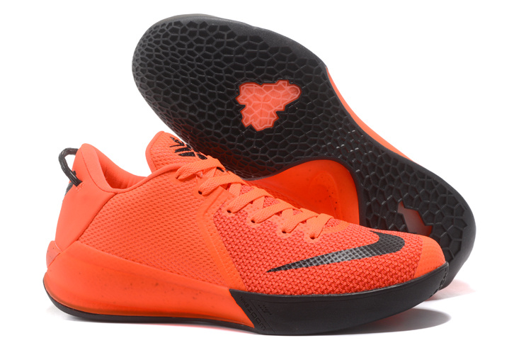 Nike Kobe Venomenon 6 Orange Black Shoes