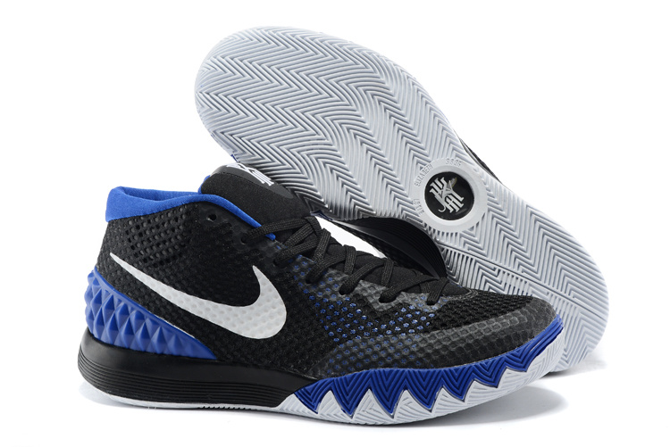 Nike Kyrie 1 Black Blue White Basketball Shoes