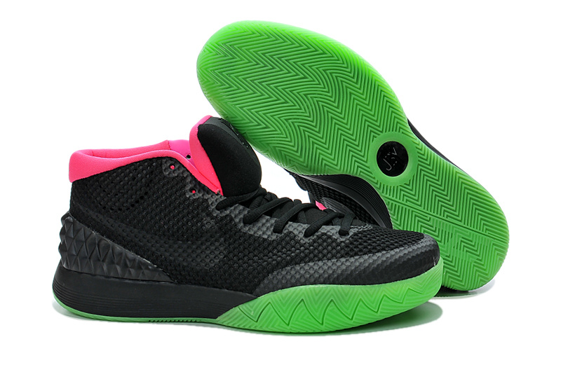 Nike Kyrie 1 Black Green Pink Shoes