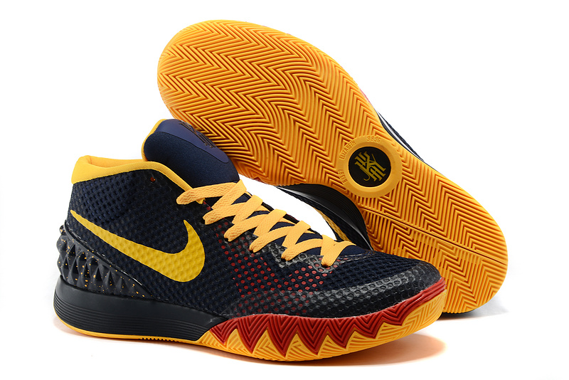 Nike Kyrie 1 Black Yellow Red Shoes