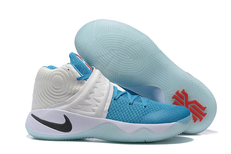 Nike Kyrie 2 Christmas Blue White Shoes