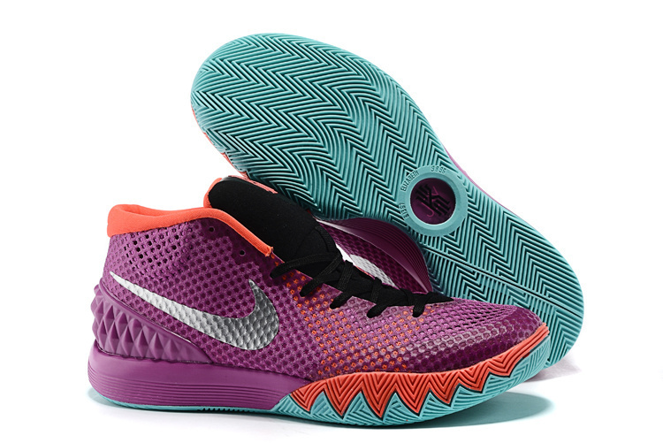 Nike Kyrie 1 Easter Purple Red Green Shoes