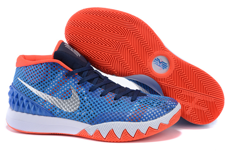 Nike Kyrie 1 Independent Day Blue White Orange Shoes
