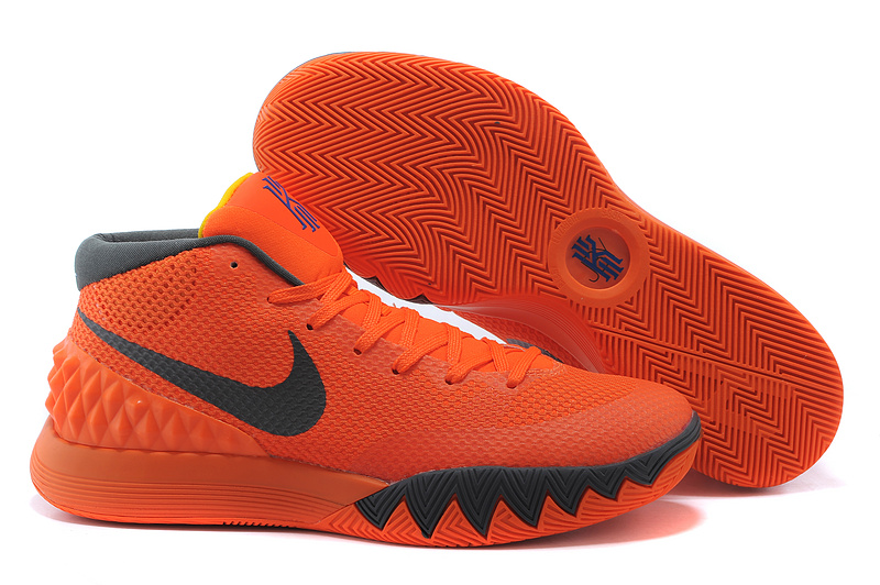 Nike Kyrie 1 Orange Black Basketball Shoes