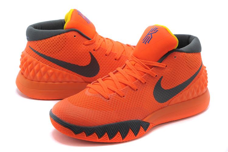nike kyrie 1 orange black basketball shoes nike kyrie 1