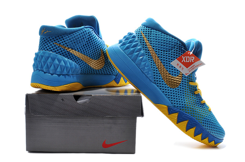 A Kids Exclusive Nike Kyrie 1 is Releasing Tomorrow ...  Kyrie 1 Blue And Yellow