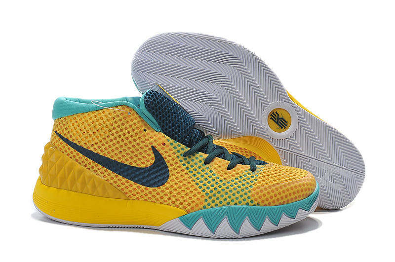 Nike Kyrie 1 Yellow Light Jade Shoes