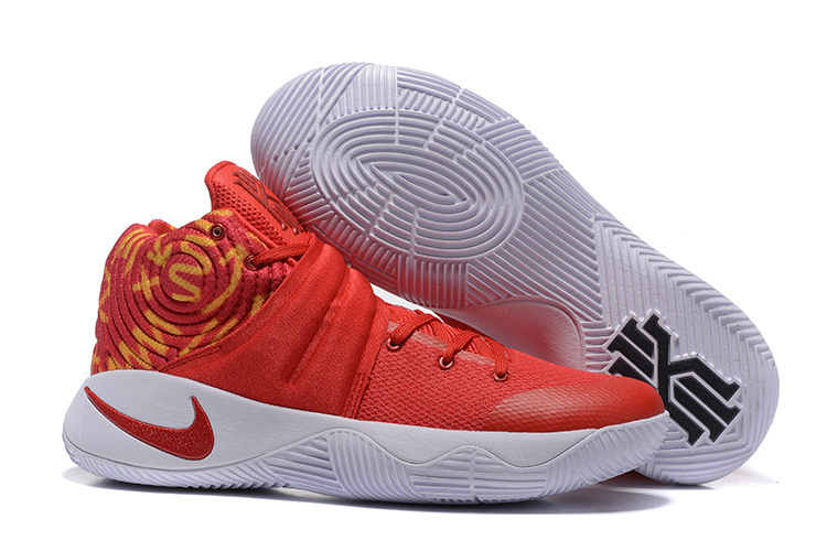 Nike Kyrie 2 All Red Basketball Shoes