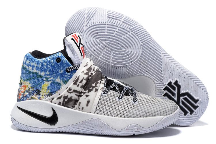 Nike Kyrie 2 All Star White Black Blue Basketball Shoes