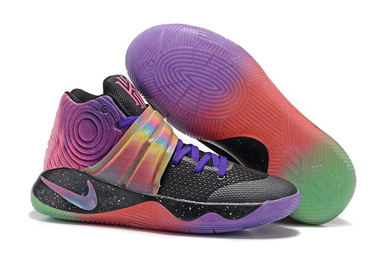 Nike Kyrie 2 Midnight Black Purple Shoes