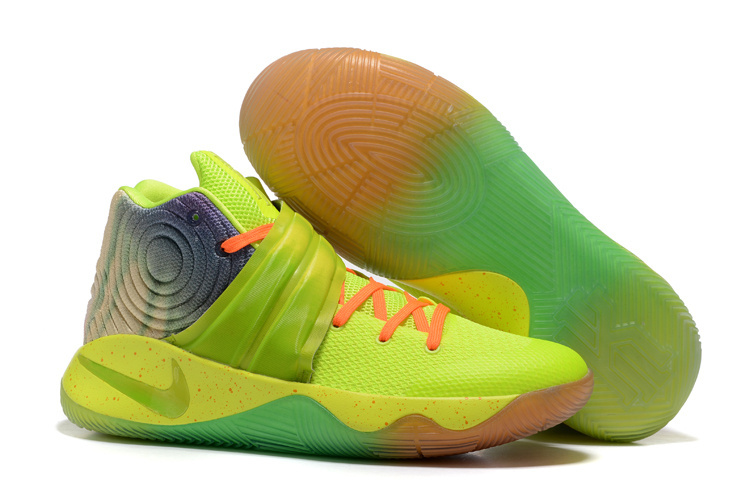 Nike Kyrie 2 Midnight Fluorscent Green Shoes