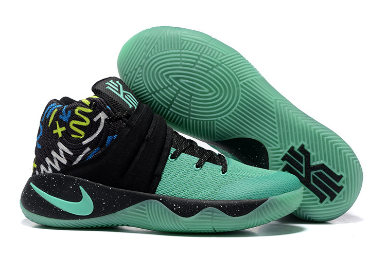 Nike Kyrie 2 Midnight Green Black Basketball Shoes