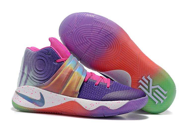 Nike Kyrie 2 Midnight Purple Pink Shoes