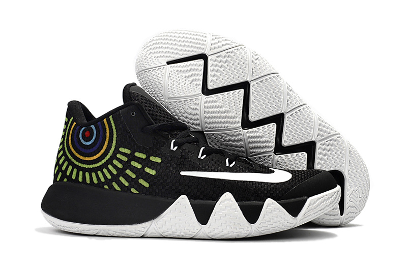 Nike Kyrie 4 Black White Shoes