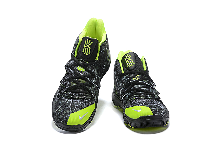 Nike Kyrie 5 Black Green Grey Shoes