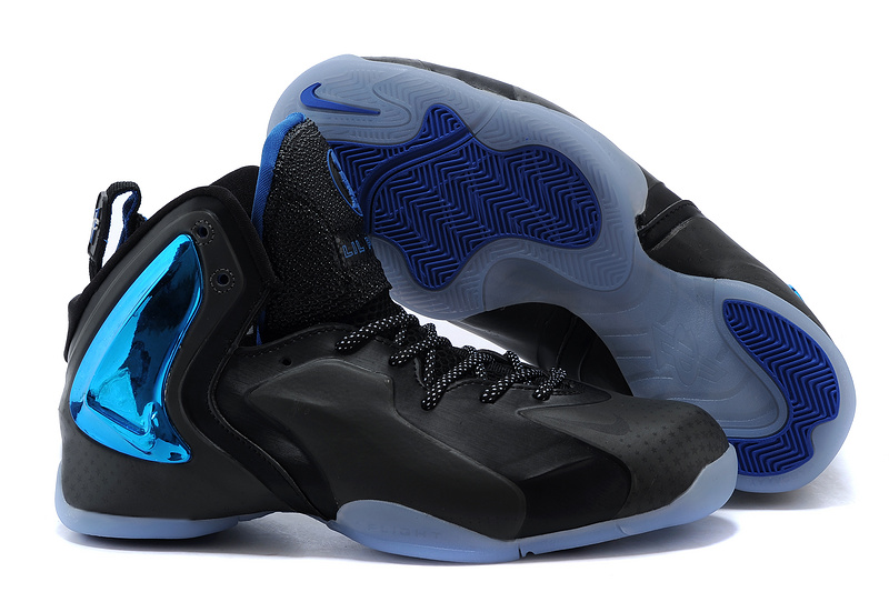 Nike LIL Penny Hardaway Black Blue Shoes