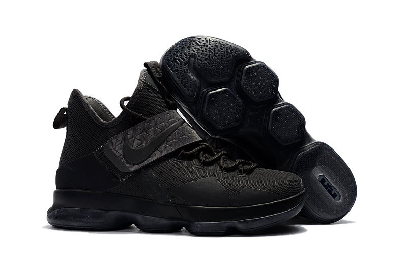 Nike LeBron 14 All Black Shoes