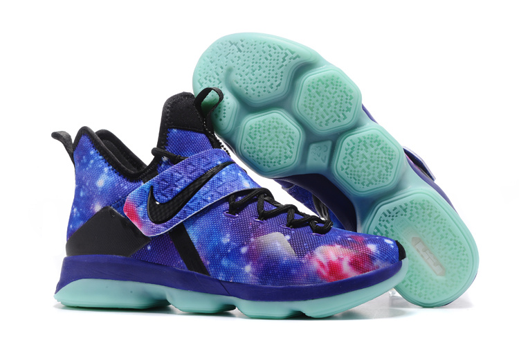 Nike LeBron James 14 Galaxy Shoes