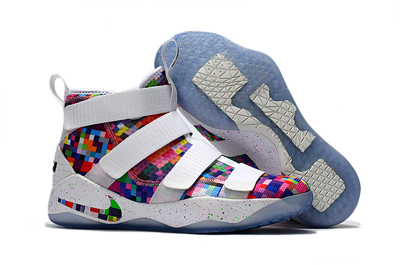 Nike LeBron Soldier 11 Rainbow Shoes
