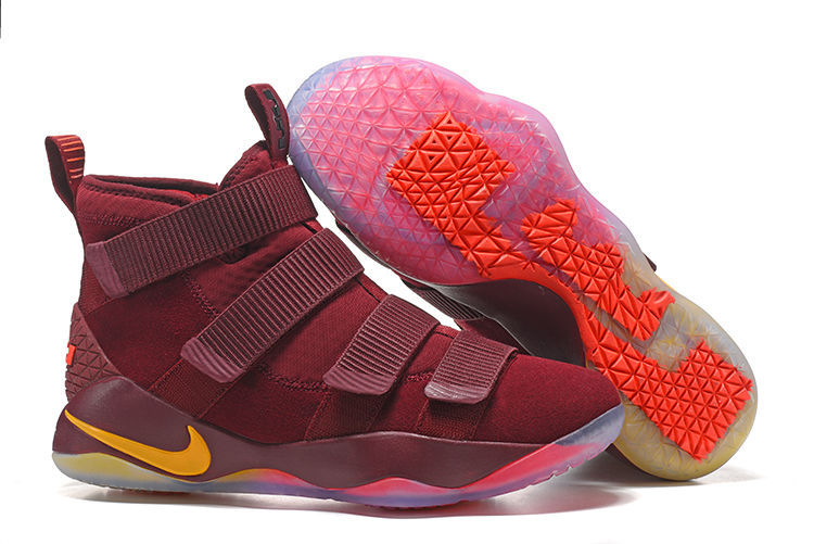 Nike LeBron Soldier 11 Wine Red Shoes