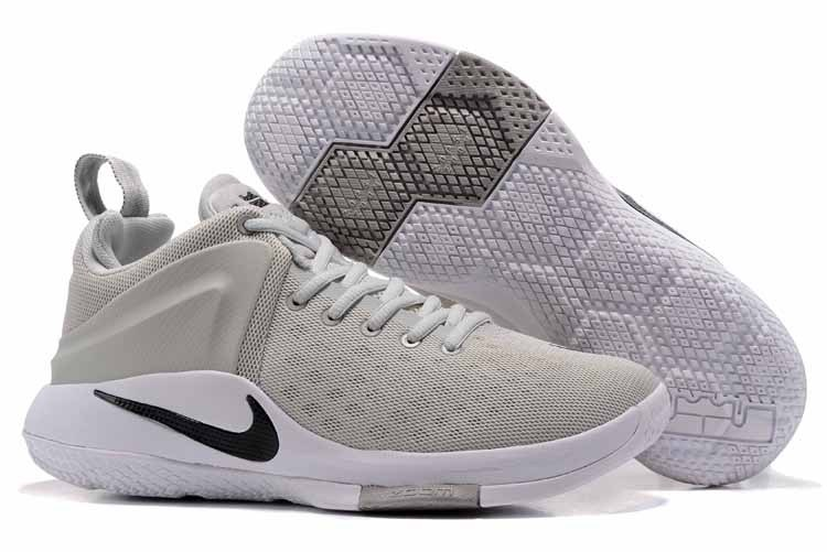 Nike LeBron Witness I Grey White Gold Shoes