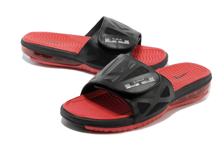 Nike Lebron James Hydro 10 Air Cushion Black Red Sandal