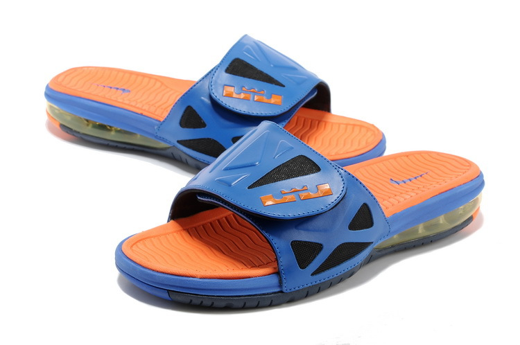 Nike Lebron James Hydro 10 Air Cushion Blue Orange Sandal