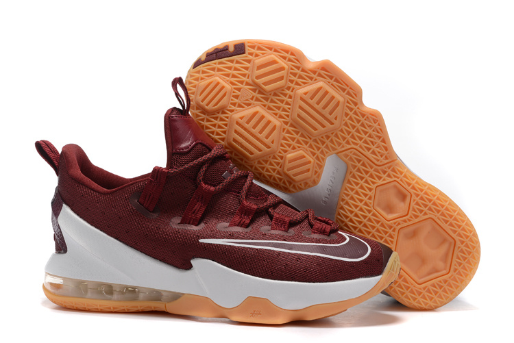 Nike Lebron 13 Low Wine Red Shoes