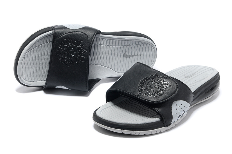 Nike Lebron James Hydro 9 Black Grey Sandal