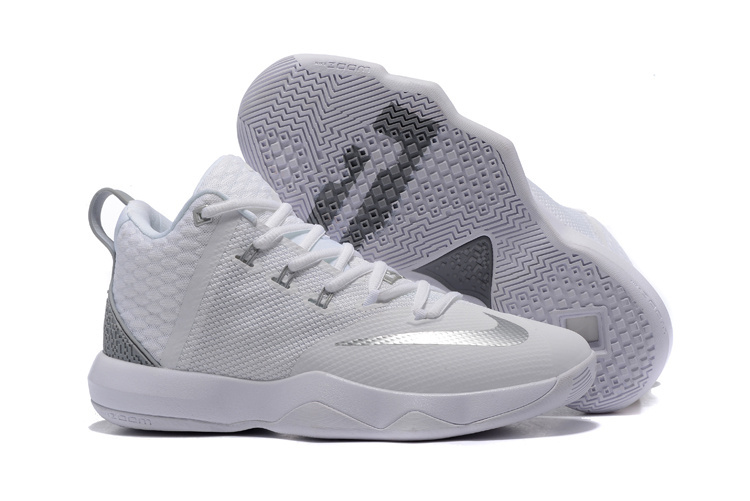 Nike Lebron Ambassador IX Grey Silver Shoes