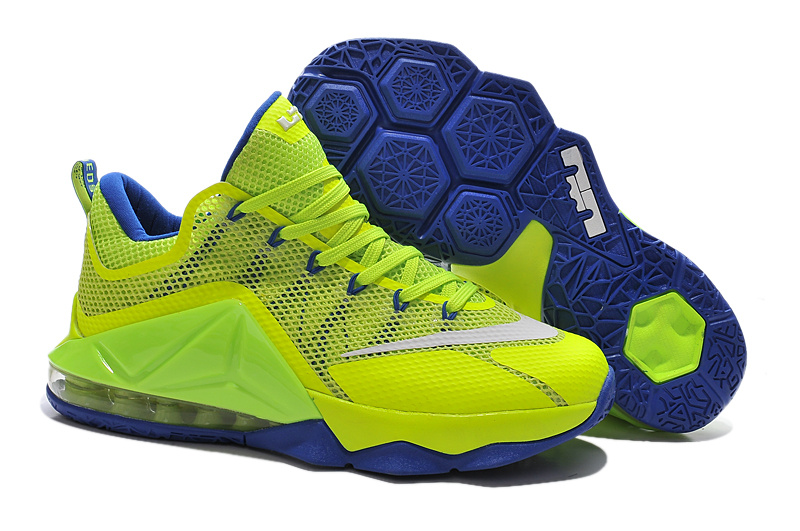 green lebron james shoes