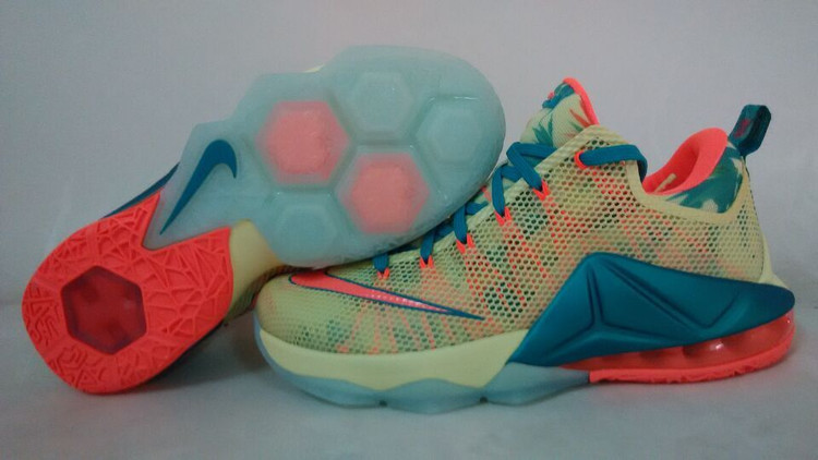Nike Lebron James 12 Low South Beach Shoes
