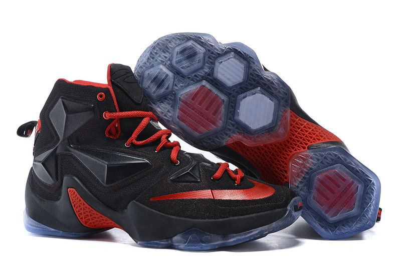 Nike Lebron James 13 Black Red Shoes